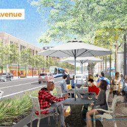 University Avenue rendering